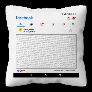 """Cuscino """"Facebook Home"""""""